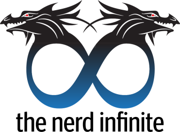 Two dragons forming the infinite sign